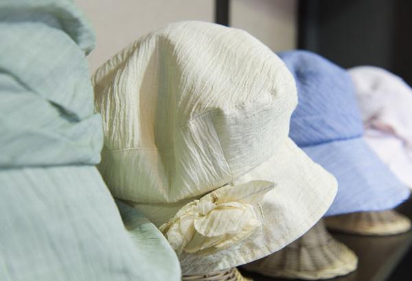 小千谷縮帽子の写真